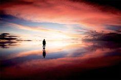 © Michael Kittell - Dreamland, Dream, Ethereal, Otherworldly, Heaven, Paradise, Peace, Salar de Uyuni, Bolivia