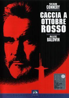 """Caccia a ottobre rosso (1990) Uno Sean Connery assolutamente """"magnetico"""", un film ricco di suspance che ho amato fin dalla prima volta in cui l'ho visto."""