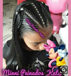 52 Super Ideas For Braids Styles For Kids Black Hair Little Girl Braids, Braids For Kids, Girls Braids, Little Girl Hairstyles, Trendy Hairstyles, Bob Hairstyles, Braided Hairstyles, Curly Hair Styles, Natural Hair Styles
