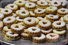 Cut Out Cookie Recipe, Cut Out Cookies, Cookie Recipes, Christmas Sweets, Christmas Cookies, Hungarian Recipes, Quick Easy Meals, Biscuits, Food And Drink