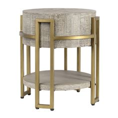 Avalon Round End Table - Occasional Tables - Furniture - Products  | Handcrafted & Sustainable Furnishings
