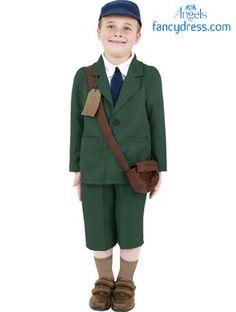 ccaf4e1187 Cute little evacuee fancy dress costume  http   www.fancydress.com