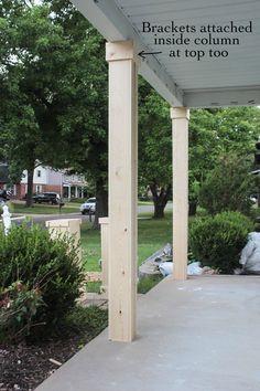 Unique Column Covers Basement