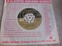 Bobby Darin Atlantic Golden Oldies w/ Sleeve You Must Have Been a Beautiful Baby