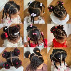 Little Girls Ponytail Hairstyles, Little Girl Ponytails, Black Toddler Hairstyles, Little Girls Natural Hairstyles, Mixed Baby Hairstyles, Kids Curly Hairstyles, Flower Girl Hairstyles, Braids Hairstyles Pictures, Curly Hair Styles Easy