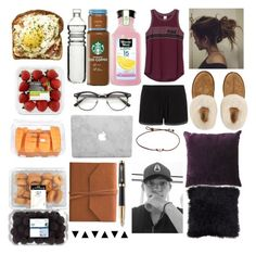 """""""Mornings."""" by winter-n-rose ❤ liked on Polyvore featuring Victoria's Secret, Pepper & Mayne, UGG, Dot & Bo, Eccolo and Parker"""