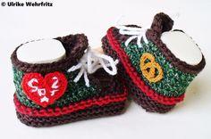 Babyschuhe  von strickliene auf DaWanda.com