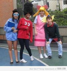 Hey Arnold - 90s Inspired Halloween costumes