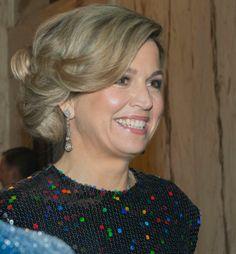 Koningin Maxima bij Openingsconcert Nederlands Voorzitterschap. Jan. 22, 2016