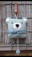 0129_210620_muziekdoosjebeer01voor Petra, Crochet Hats, Beanie, Knitting Hats, Beanies, Beret