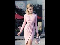 FiFi Style : DIY Pleated Wrap Bodycon Dress (Hướng dẫn may đầm xếp ly, t. Mom Dress, Dress Skirt, Wrap Dress, Bodycon Dress, 15 Dresses, Evening Dresses, Fashion Dresses, Dress Sewing Patterns, Clothing Patterns
