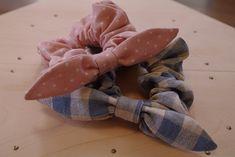 「簡単可愛いリボンシュシュ♪」本で見たシュシュがとっても可愛かったので自作してみました^^ どんなファッションでも似合うようなシンプルな作りです。[材料]シュシュ用布地/リボン用布地/リボンベルト用布地