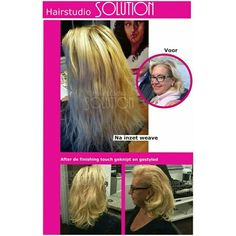 Brasilian blond hairweave before and after