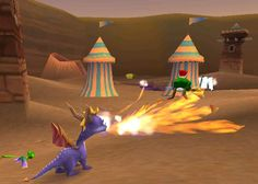 First Spyro, most difficult one, most loveable