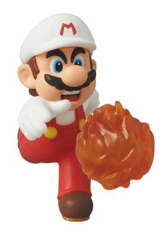 Fire Mario, New Super Mario Bros U figure - MEDICOM TOY, 2014