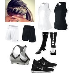 Change some things and make it in to a volleyball outfit... like booty shorts and shoes and you got a volleyball outfit... oh and add some knee pads