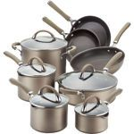 Circulon® Premier Professional Hard Anodized Nonstick 13-Piece Cookware Set -- Works on induction stoves