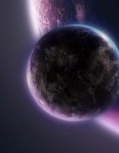 Purple planets #Space #Planets