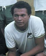 Miguel Escobar of Deportivo Cali of Colombia in 1975.