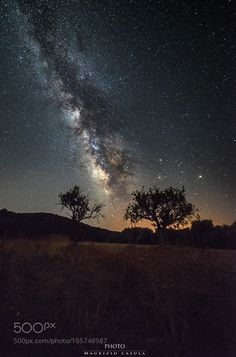 El camino de la galaxia  Follow me -;)  Image credit: http://ift.tt/2aBUq38 Visit http://ift.tt/1qPHad3 and read how to see the #MilkyWay  #Galaxy #Stars #Nightscape #Astrophotography