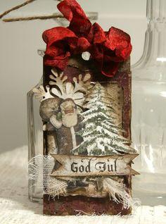 """Dagens """"luke"""" i julekalenderen til Inzpira Magazine Mange av oss er midt i julehandelen og da er kjekt å ha disse noen pakkelapper ..."""