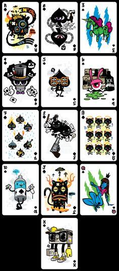 Demons & Diamonds (Playing Cards) on Behance