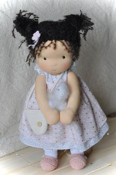 Doll Making Tutorials, Making Ideas, Making Dolls, Baby Dolls For Kids, Kids Dolls, Clothespin Dolls, Textiles, Fabric Dolls, Rag Dolls