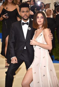 Selena Gomez and The Weeknd at the 2017 MET Gala. #METGala #2017METGala #metball #redcarpet #fashion #celebrity #celebritystyle #fabfashionfix #selenagomez