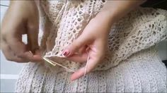 Parte 3 - Vestido Grazi Massagera Crochê