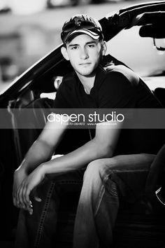 senior pictures aspen studio | Senior Pictures with Cars