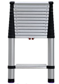 Telesteps 1600EP OSHA Compliant 16 ft Reach Professional Wide Step Telescoping Extension Ladder Ladders, Blinds, Top, March, Stairs, Staircases, Shades Blinds, Ladder, Blind