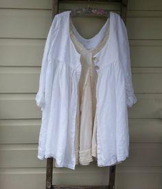Long Linen Jacket. $320.00, via Etsy.