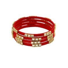 UNIK CARAT is an online jewellery store that houses high quality jewellery with strikingly exquisite designs. Silk Thread Bangles Design, Silk Thread Earrings, Thread Jewellery, Kundan Bangles, Silk Bangles, Bangles Making, Jewelry Patterns, Bangle Bracelets, Necklaces