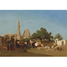 Charles-Théodore Frère MOSQUE OF SULTAN HASSAN, CAIRO