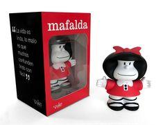Mafalda personaje coleccionable, Literatura Argentina, Humor, Revistas Comícas. Coleccionable.