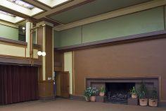 Unity Temple, Oak Park, Illinois, Frank Lloyd Wright. Designed 1904-5. Constructed 1905-8