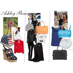 """""""ashley benson inspired"""" by xanthemorris on Polyvore"""
