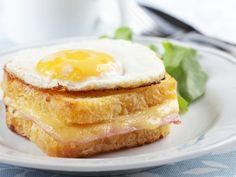 Croque madame - Recette de cuisine Marmiton : une recette