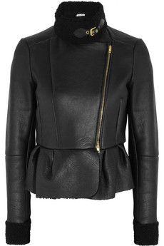 Miu Miu Shearling jacket | THE OUTNET