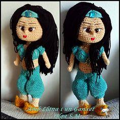 Patron Amigurumi Princesas Disney : Modelli bambole amigurumi on Pinterest Patrones, Crochet ...