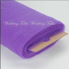 Purple Tulle Fine Diamond Weave 480 Feet $89