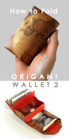 ideas origami easy envelope for 2019 Origami Envelope Easy, Origami Wallet, Origami Easy, Origami Bowl, Origami And Quilling, Origami Paper Art, Fabric Origami, Paper Crafts, Diy Wallet Paper