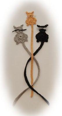 Curly Girl's Crochet Etc.: Free Cat Patterns to Crochet