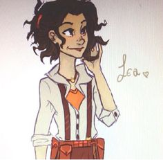 genderblend leo. I prefer viria's though cuz i don't think lea would be this sissy