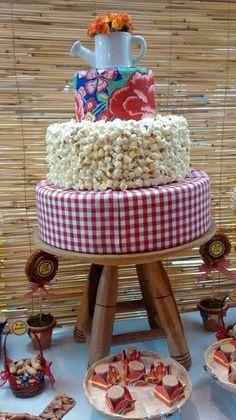 Resultado de imagem para decoração festa junina pipoca