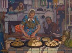 """Попов Павел Петрович. . """"Бабушкины пирожки."""