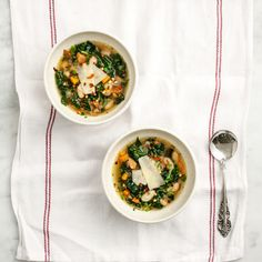 Kale & White Bean Soup Recipe Soups with olive oil, mushrooms, carrots ...
