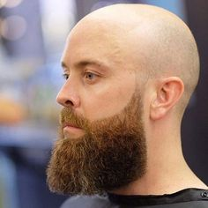 17 Best Beard Styles For Bald Men Guide) - Shaved Head with Beard Styles - Types Of Beard Styles, Long Beard Styles, Beard Styles For Men, Thin Beard, Short Beard, Nice Beard, Perfect Beard, Full Beard, Bald Men With Beards