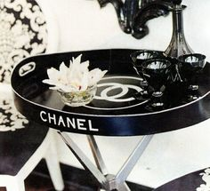 Chanel nighttable  #chanel #decor #table #luxury #labels