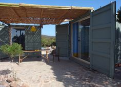 Container summer house